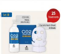 RIBESKIN ™ CARBOXY THERAPY CO2 (Гель + Маски 25 шт.) SET B Mini
